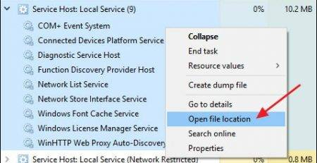 Service Host Process چیست