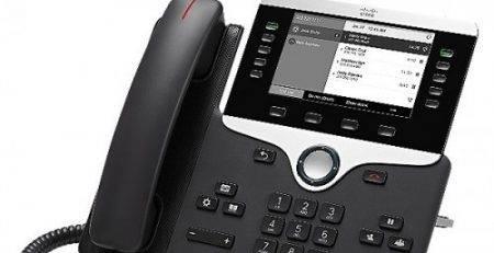 تلفن آی پی و نحوه کارکرد تلفن IP | تلفن سیسکو 8811