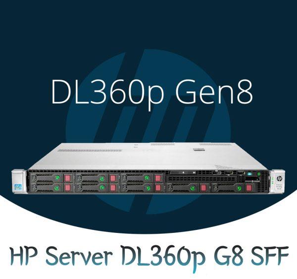 سرور HP ProLiant DL360p Gen8,سرور DL360p,سرور HP,سرور HP DL360p,مشخصات سرور DL360p HP