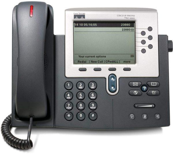 آی پی فون سیسکو 7961G,آی پی فون 7961,تلفنIPسیسکو 7961,سیسکو 7961,قیمتآی پی فون سیسکو 7961,تلفن سیسکو 7961