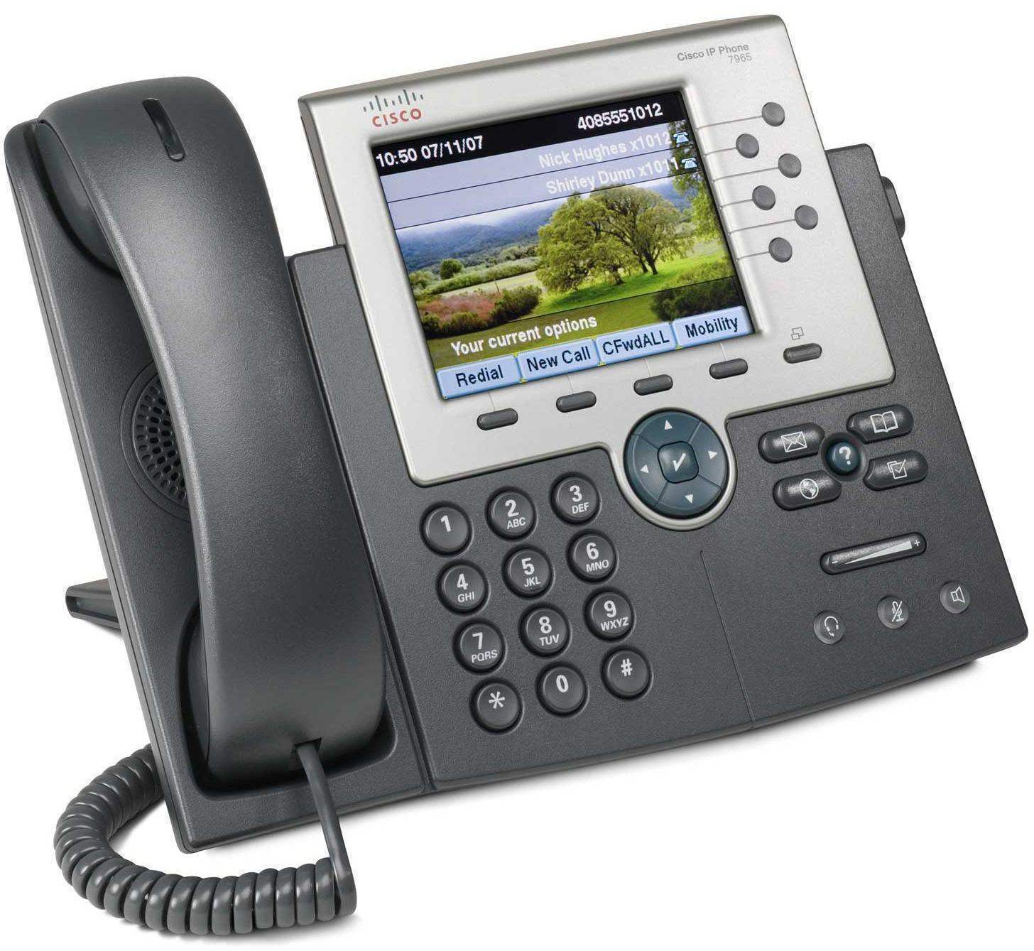 آی پی فون سیسکو 7965G,تلفن سیسکو 7965G,سیسکو 7965G,تلفن IP سیسکو 7965