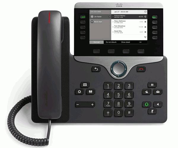 آی پی فون سیسکو 8811 آکبند,تلفن سیسکو 8811,تلفن ip سیسکو 8811,آی پی فون 8811,Cisco IP Pone 8811,