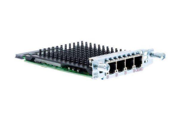 ماژول سیسکو VIC2-4FXO,ماژول سیسکو VIC2-4FXO,ماژول شبکه ویپ,قیمت ماژول سیسکو VIC2-4FXO,مرکز تلفن PSTN,Modules FXO,رابط FXO,کارت های VIC